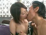 Sensual Mikito Tsukawa fucking and swallowing