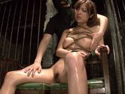 Bondage lover Hikaru Shiina goes mad of hardcore actions