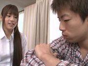Sweet Ai Nakaidou loves to have sex anywhere