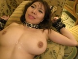 Hot chick with hairy pussy Iroha Suzumura fucked by two guysxxx asian, asian wet pussy}