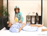Rio Hamasaki Big Boobed Nurse Enjoys Her Patients picture 3
