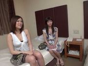 Amateur sex scene with hot milf Konishi Asakon