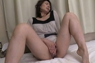 Horny mature chick Hisae Yabe relieves her sexual tension getting fuckedbig asian boobs, japanese tits