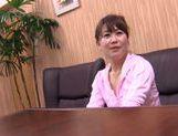 Mature Japanese amateur enjoys hard rear banging