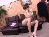 Mature Japanese amateur enjoys hard rear banging