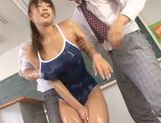 Mischievous Japanese teen Shunka Ayami in group action picture 13
