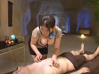 Meguri arousing Asian milf gets into hardcore dick ride