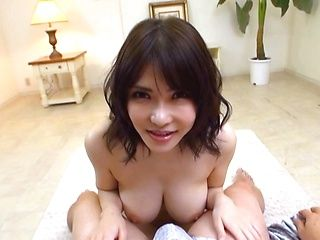 Stunning japanese amazes with her tits