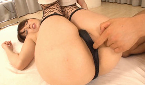 Big tits Yui Hatano enjoys rough Asian pov sex on cam
