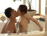 Great fuck in the tub for naughty Yuu Konishiasian ass, hot asian pussy}