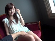 Nozomi Anzaki throats cock like a true masterasian chicks, japanese sex}