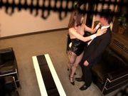 Voyeur enjoys Yuria Ashina in plenty of hard sex action