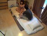 Amateur Japanese AV Model filmed while having hard sex