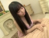 Sultry Japanese brunette Tsukada Shiori gives pleasure to hard cockhorny asian, asian pussy}