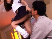 Yuma Asami Asian beauty enjoys a rear fucking