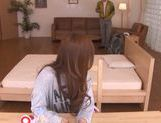 Young hottie Reira Aisaki enjoys several men picture 2