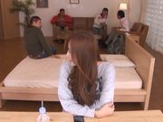 Young hottie Reira Aisaki enjoys several men