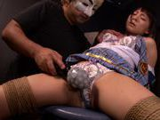 Busty schoolgirl Marie Konishi gets into hard bondage sexjapanese pussy, asian ass}