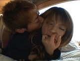Risa Tsukino Asian schoolgirl is a lovely teen who likes sex picture 15