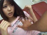 Mona Asamiya Lovely Asian chick who likes rubbing her pussy