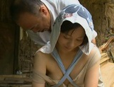 Horny Asian milf with trimmed pussy gets nailed from behind picture 13