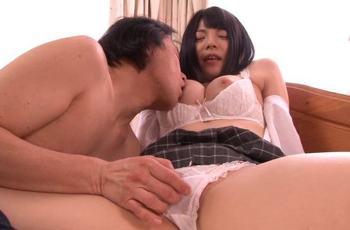 Busty Ai Uehara enjoys deep sex sensations