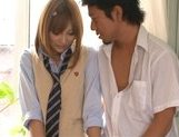 Kirara Asuka Japanese student fucks hard picture 2