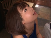 Hot fingering of sexy Asian babe Mayu Kamiya