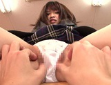 Young Akane Azusa goes nasty with her teacher picture 15