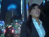 Hot office babe Kokoa Kanda gets her pussy drilled from behind
