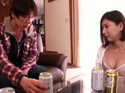 Sexy japanese enjoys fucking horny boyfriend