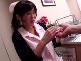 Kinky ass chick Miina Kanno hot big tits nurse sex