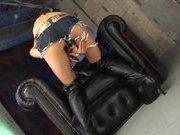 Rukia Mochizuki Asian model pokes her pussy with a dildo