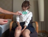 Horny Japanese gets her pussy drilled hard picture 4