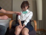 Horny Japanese gets her pussy drilled hard picture 6