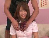 Frisky Japanese schoolgirl Kazuha Mukai enjoys pussy licking picture 14