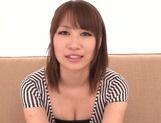 Alluring Asian redhead Shibuya Arisu makes titfuck and engulfs rod