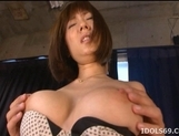Yuma Asami Hot Asian model enjoys lots of cock picture 10
