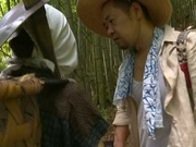 Alluring Asian milf gets licked and fucked by a horny farmer