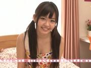 Vibrator helps horny Meri Hayama to cum hard