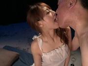 Hot milf Akiho Yoshizawa in full hardcore porn scene