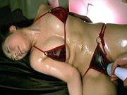 Sayuri Meike Naughty Asian model in lingerie gets her pussy tickledhot asian girls, asian chicks}