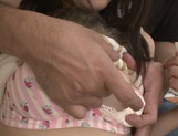 Pink pussy of Tsuma Kimura is hammered hard picture 12