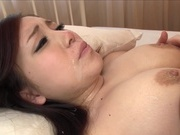 Busty Akane Mizusaki gets fucked from behindasian wet pussy, asian ass}