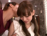 Attractive Asian chick Ryo Hashimoto bounces on hard rod picture 11