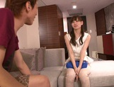 Attractive Asian chick Ryo Hashimoto bounces on hard rod