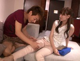 Attractive Asian chick Ryo Hashimoto bounces on hard rod picture 8