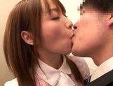 Busty Hana Nonoka enjoys hard sex at work