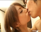 Akiho Yoshizawa Lovely Asian model is having a good time with sex
