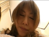 Akiho Yoshizawa Lovely Asian model is having a good time with sex picture 6